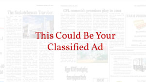 Purchase Classified Ads - The Biggar Independent